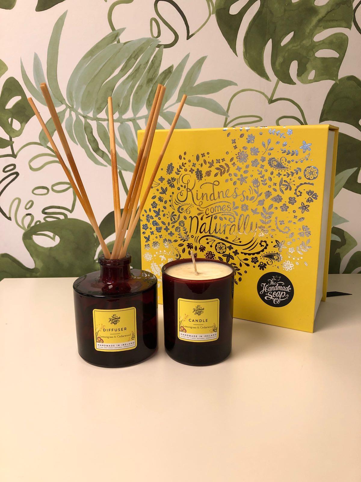 THMSC  Giftbox - Doftpinnar och doftljus