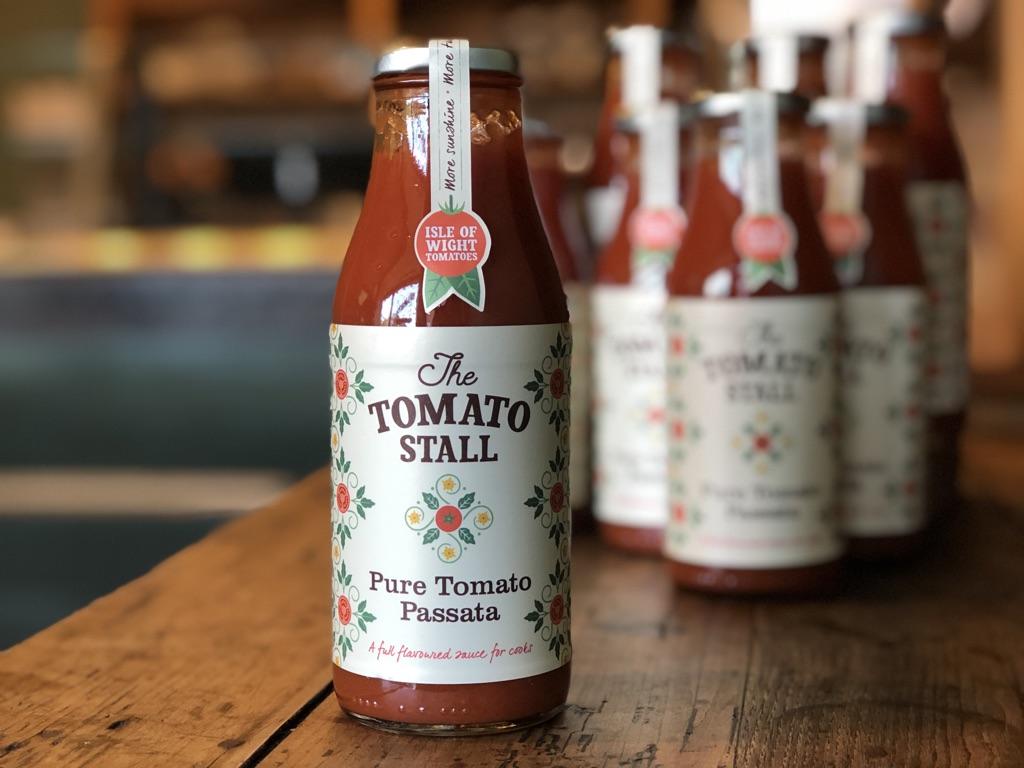 The Tomato Stall, Pure Tomato Passata 500ml