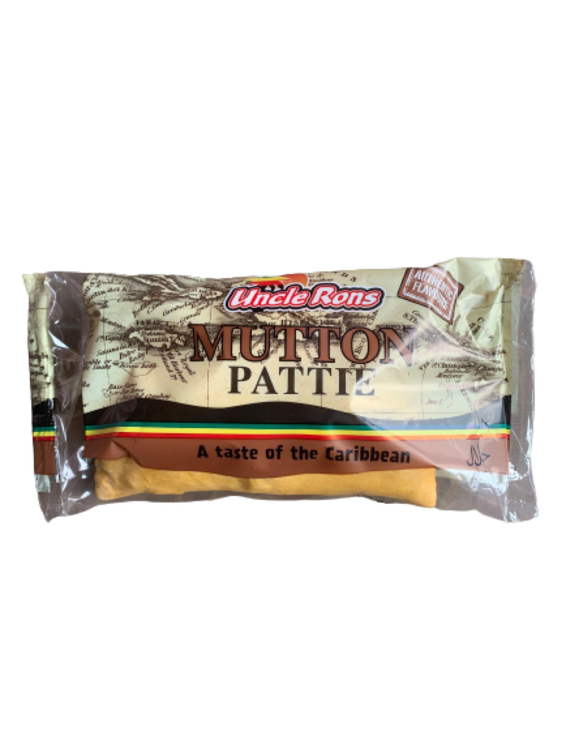 Uncle Ron's Mutton Pattie