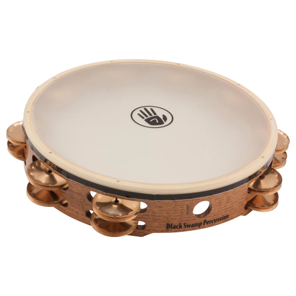 Black Swamp Percussion Tambourine TD4-S Beryllium Copper
