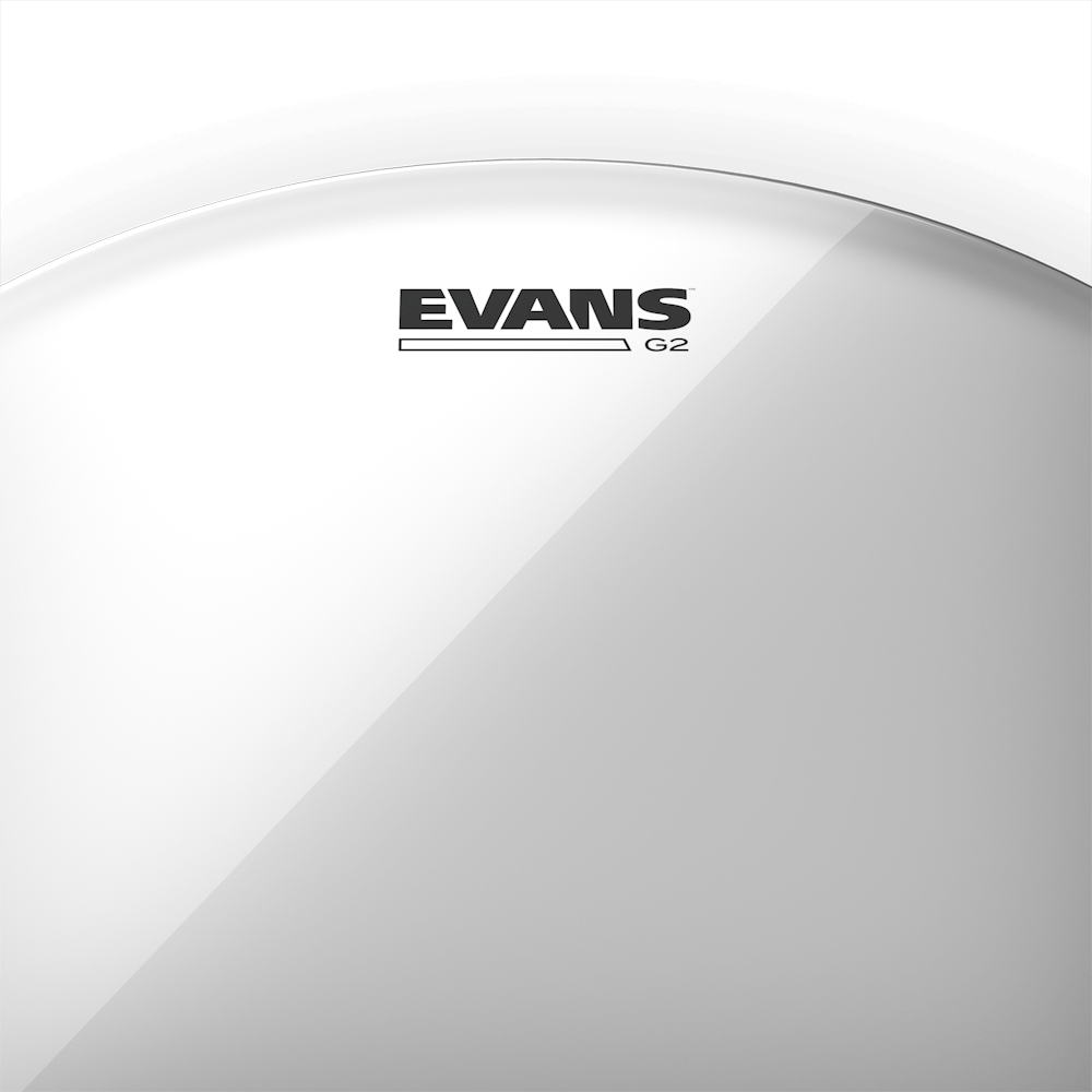 "Evans G2, 16"" kirkas kalvo"
