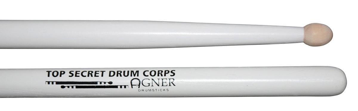 """Agner Drumsticks - """"TOP SECRET DRUM CORPS"""" Hickory"""