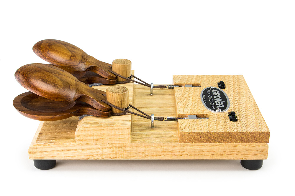 Grover Pro Percussion Castanet Machine