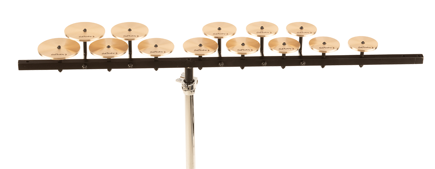 Sabian High Crotale Set with Bar
