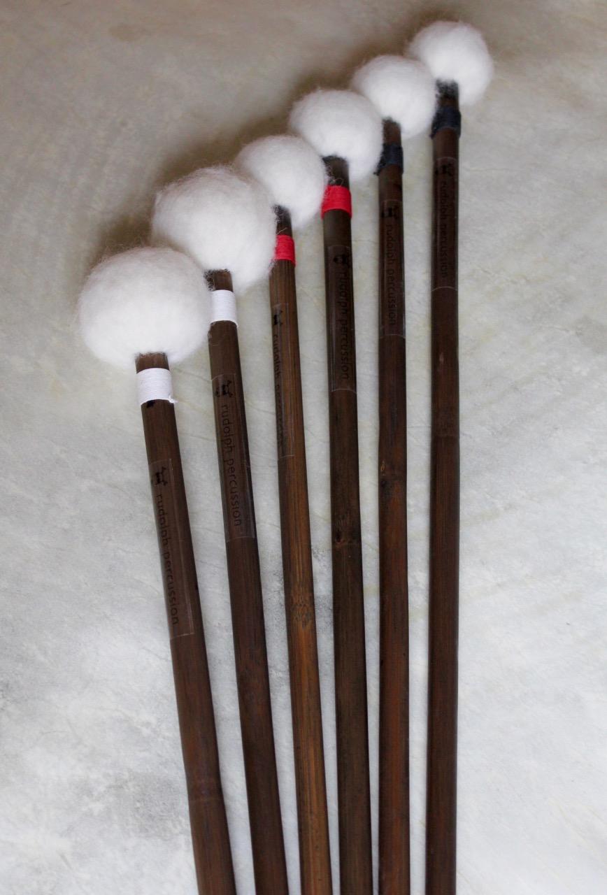 Rudolph Percussion, Harder Sticks