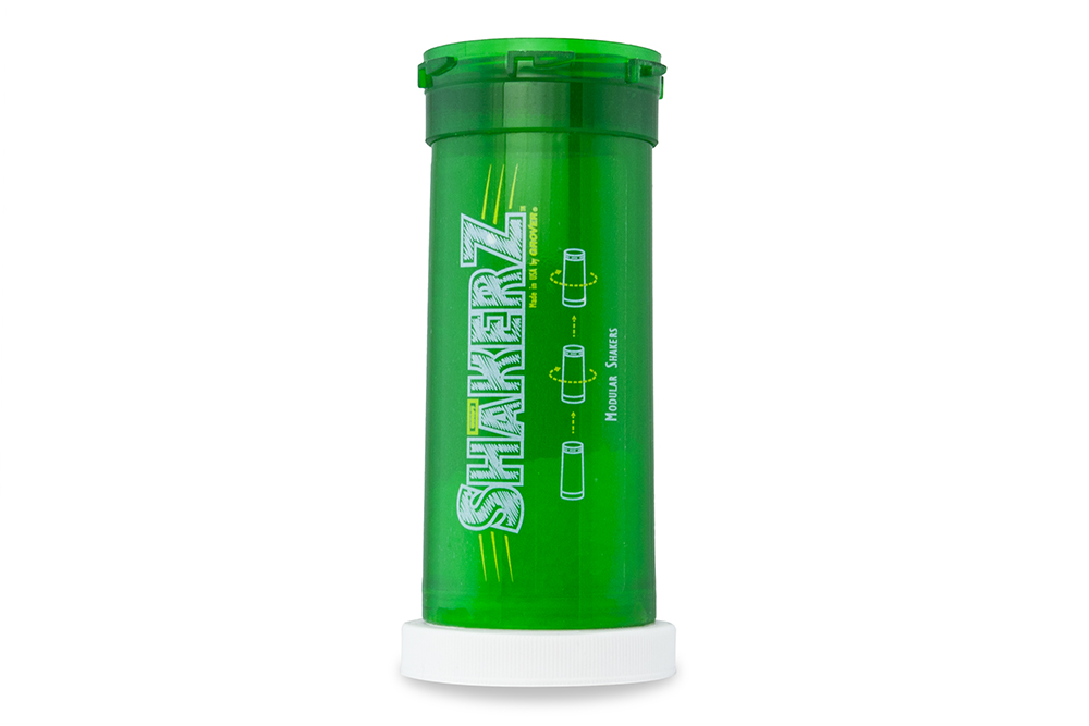 Grover Pro Percussion SHaKERZ™ modular shaker, smooth/green