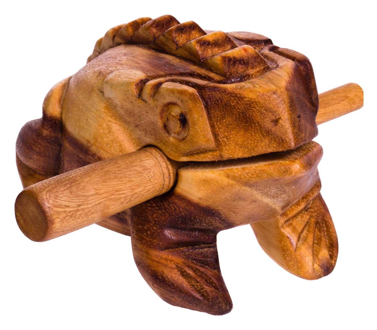 Froggy, 14cm, soft-wood scraper