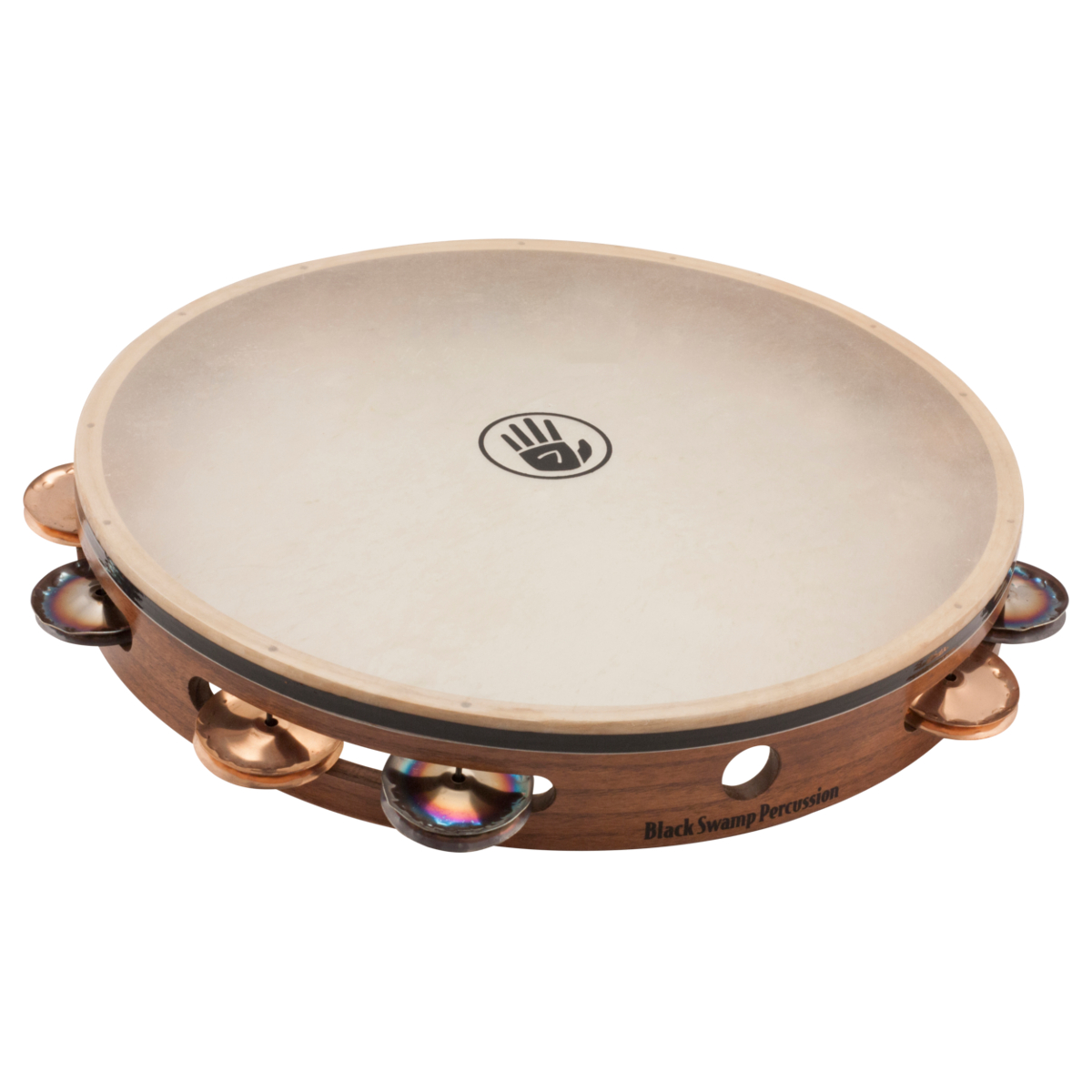 "Black Swamp Percussion 12"" SoundArt Tambourine Chromium 25 / Phosphor Bronze"