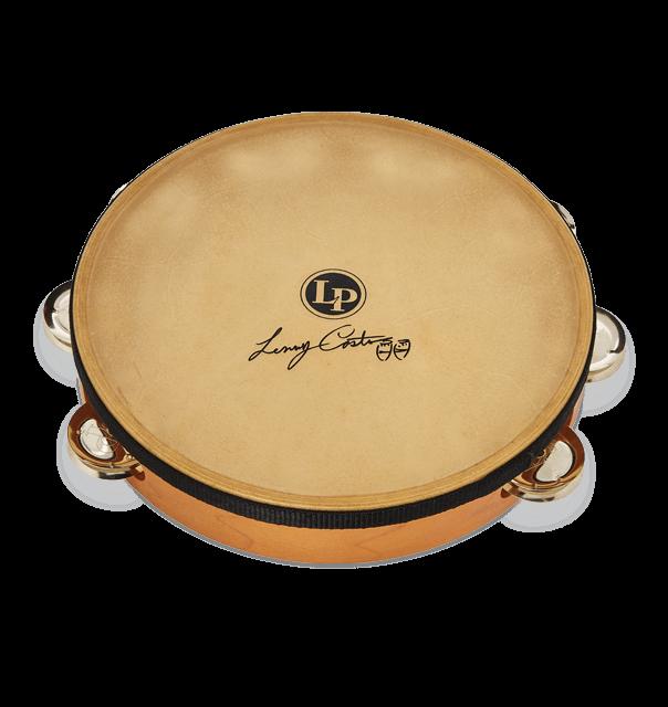 "LP 383-LC 10"" Lenny Castro Tambourine Single Row with Bag"