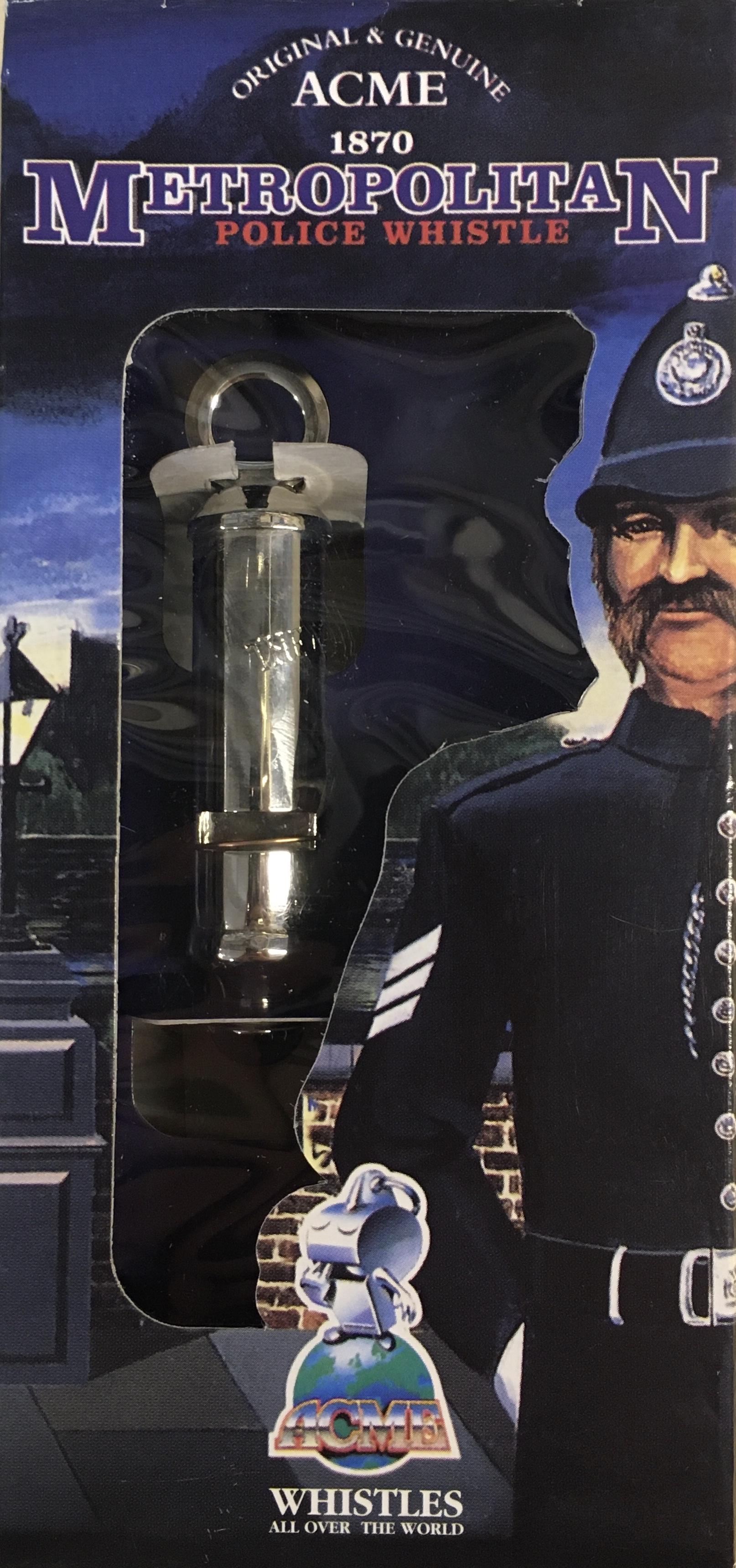 Acme Metropolitan Police Whistle