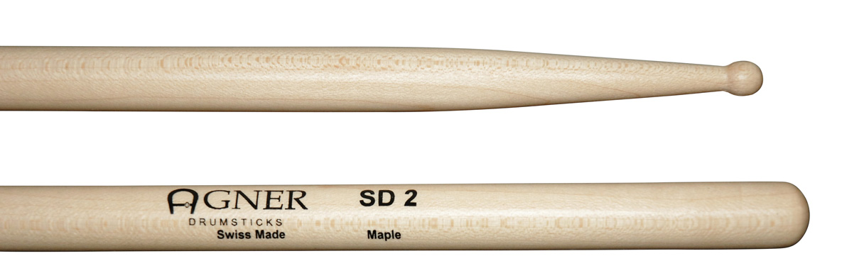 Agner Drumsticks - SD2 Maple