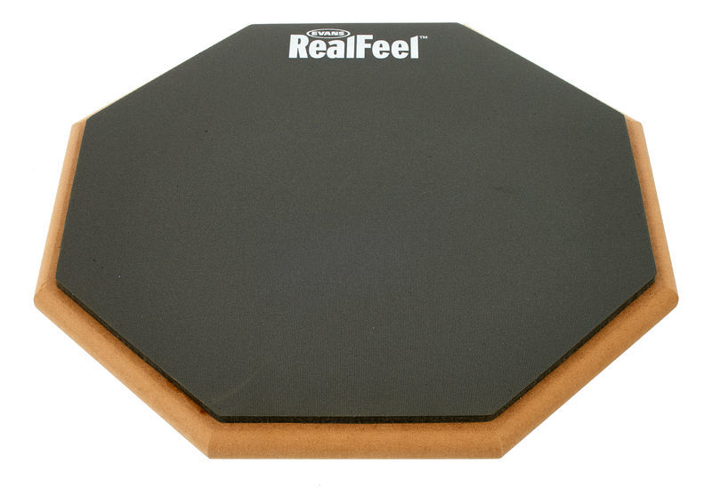"Evans Real Feel, 12"" 2-sided pad"