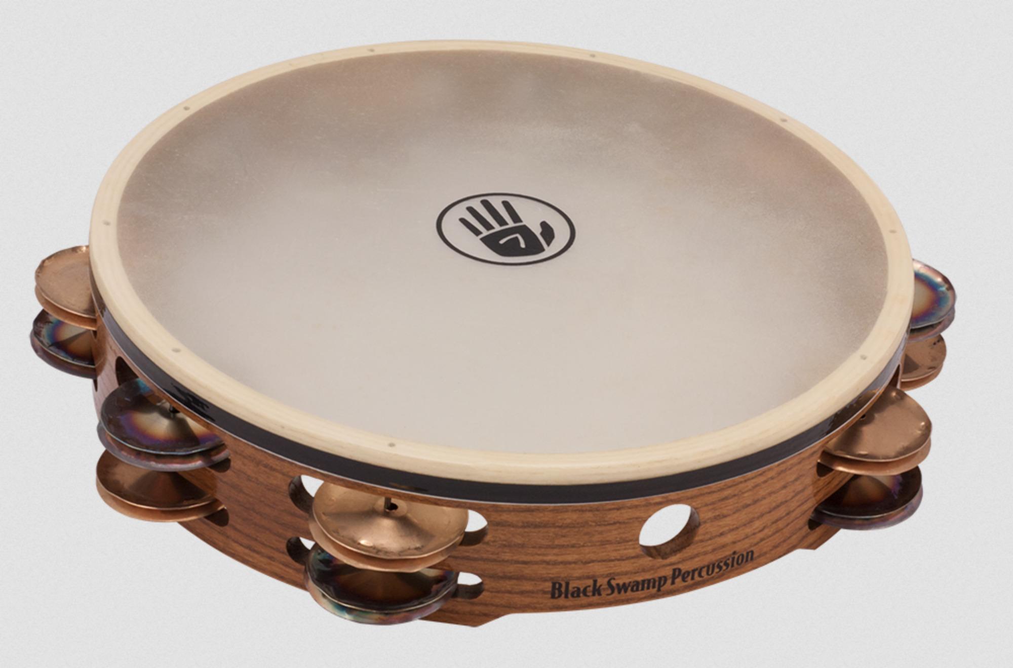 Black Swamp Percussion Tambourine TC1 Chromium 25 / Bronze