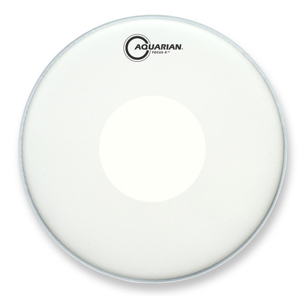 "Aquarian 14"" Focus-X Coated w/ Power Dot"