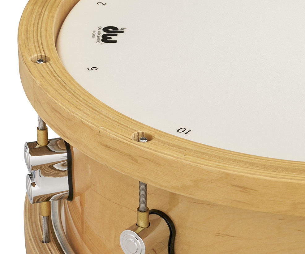 """PDP by DW 14"""" Concept™ Wood Hoop Snare"""