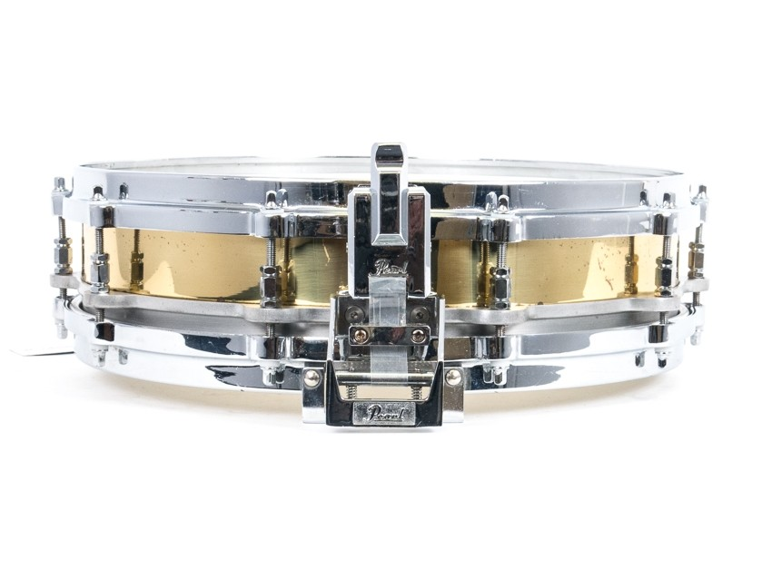 "Pearl Free Floating Snare 14"" x 3,5"" Brass, käytetty"