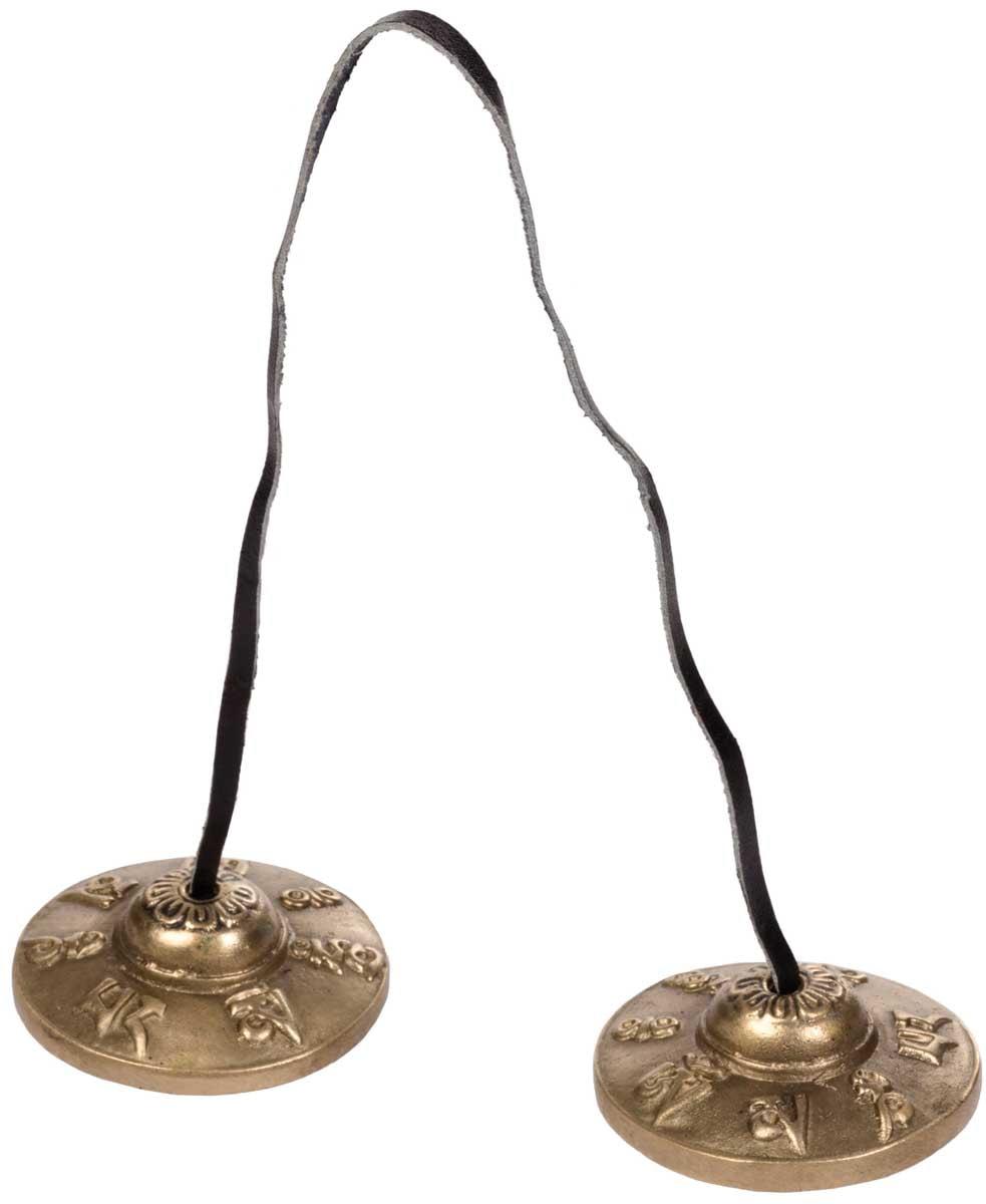 Cymbal, tingsha, Ø 6,5cm