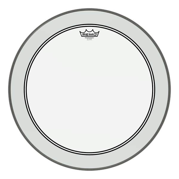 "Remo 20"" Powerstroke 3 Clear"