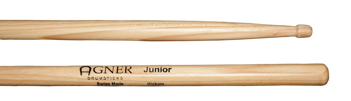 Agner Drumsticks - Junior Hickory