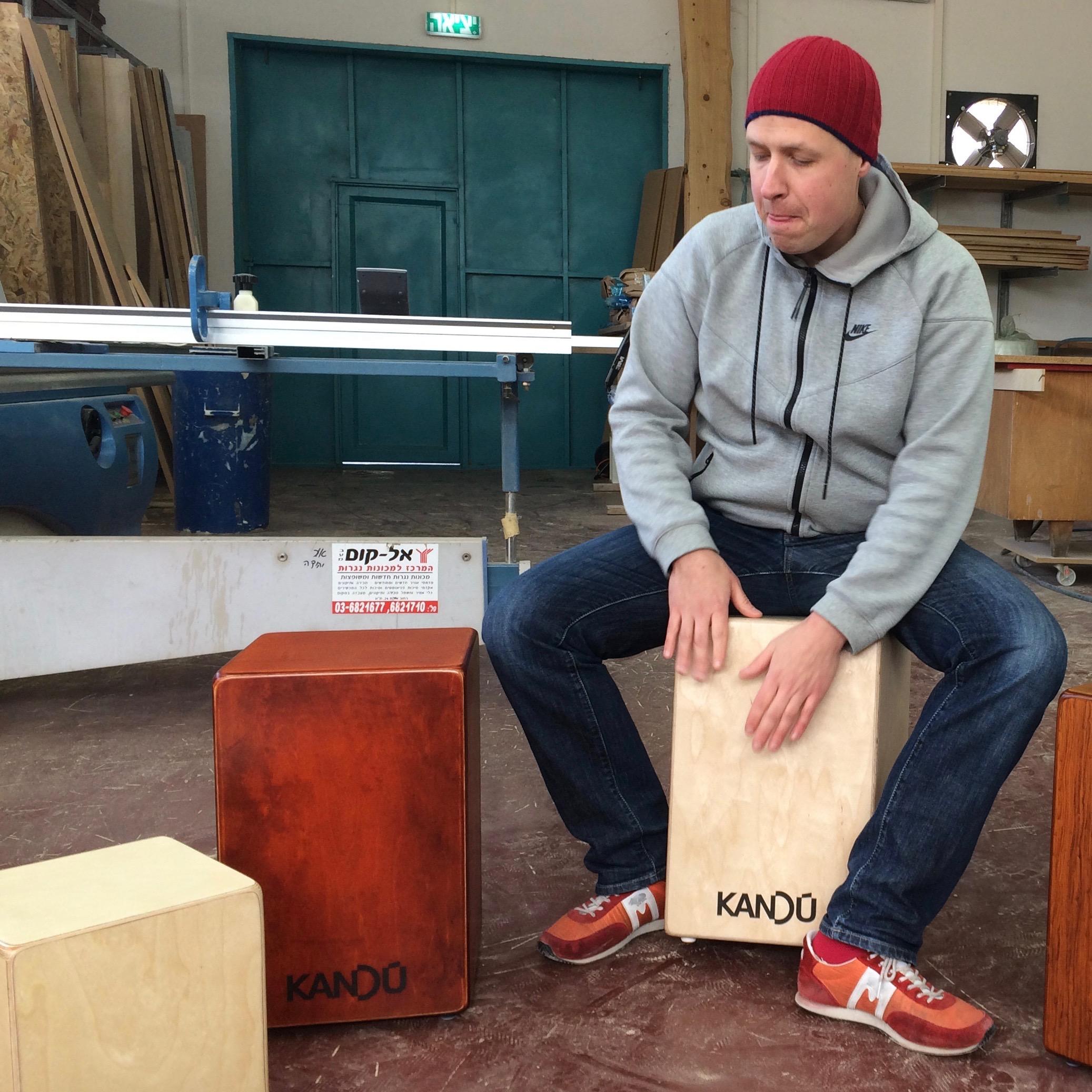 Helsinki Drum Academy - Cajonin soiton perusteet, 4 soittotuntia