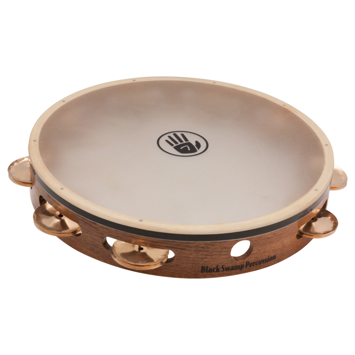 Black Swamp Percussion Tambourine TS4 Single Row Beryllium Copper