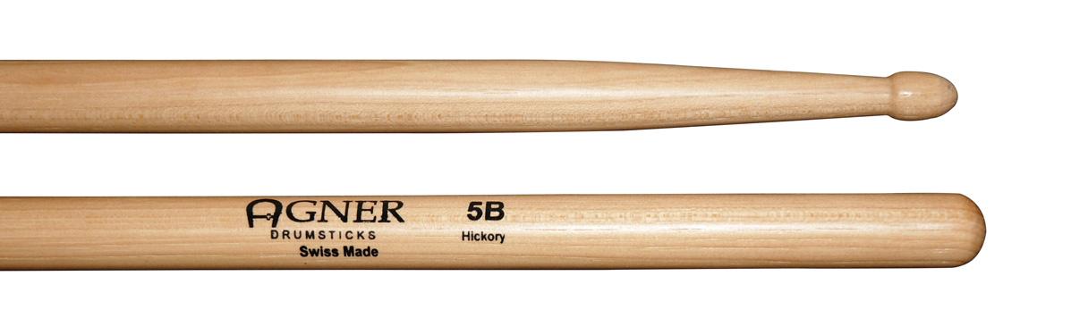 Agner Drumsticks - 5B Hickory