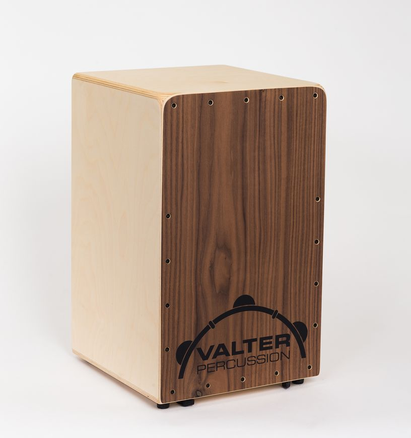 Valter Percussion Custom Box, B-stock, pähinäpuisella etulevyllä