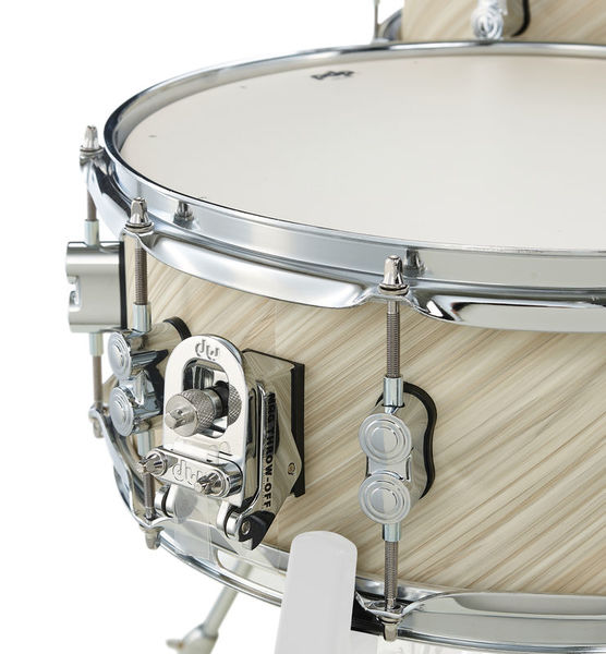 PDP by DW Snare Drum Concept Maple Finish Ply Twisted Ivory