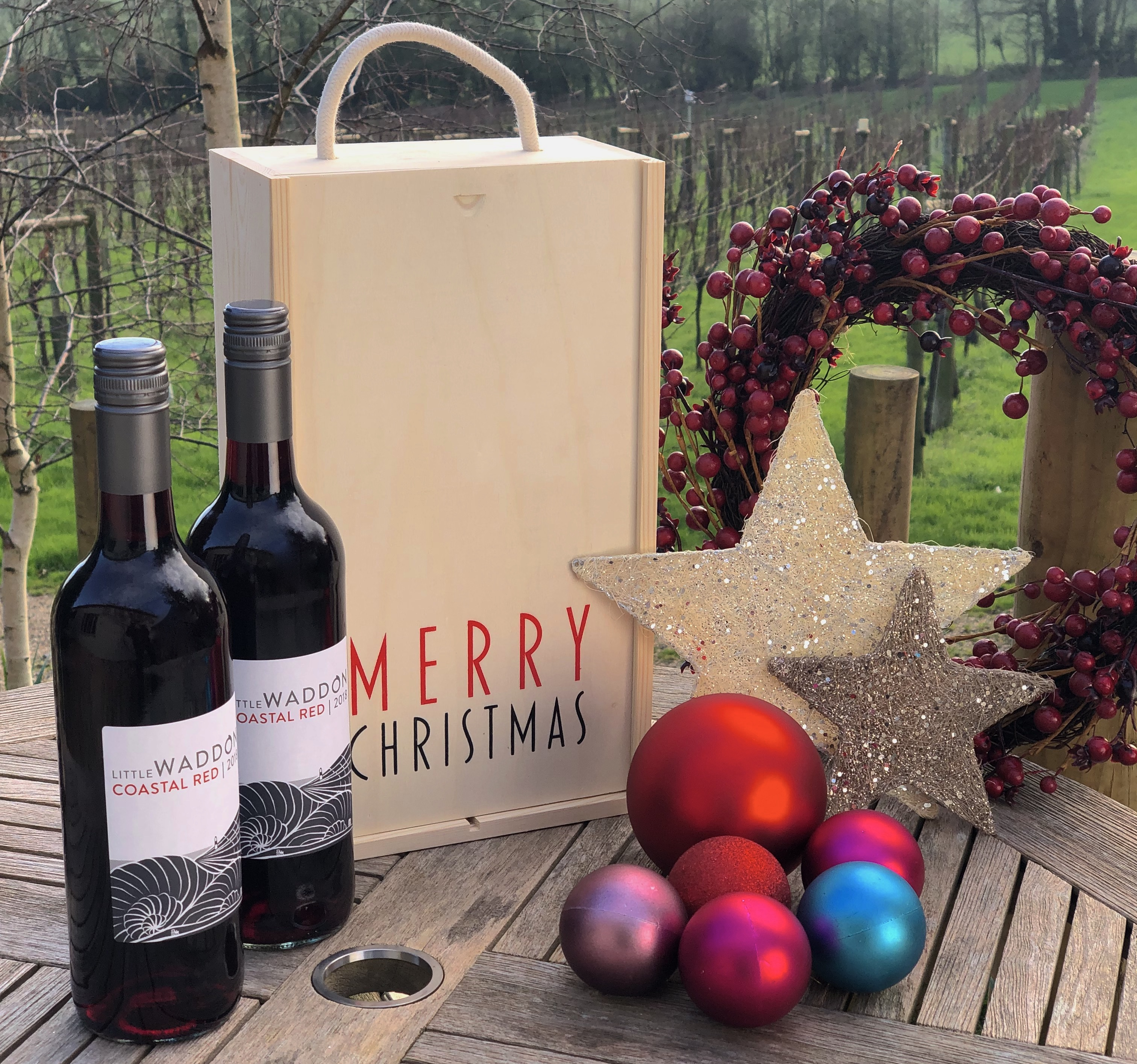 Red Christmas Special - Wine & Gift Box