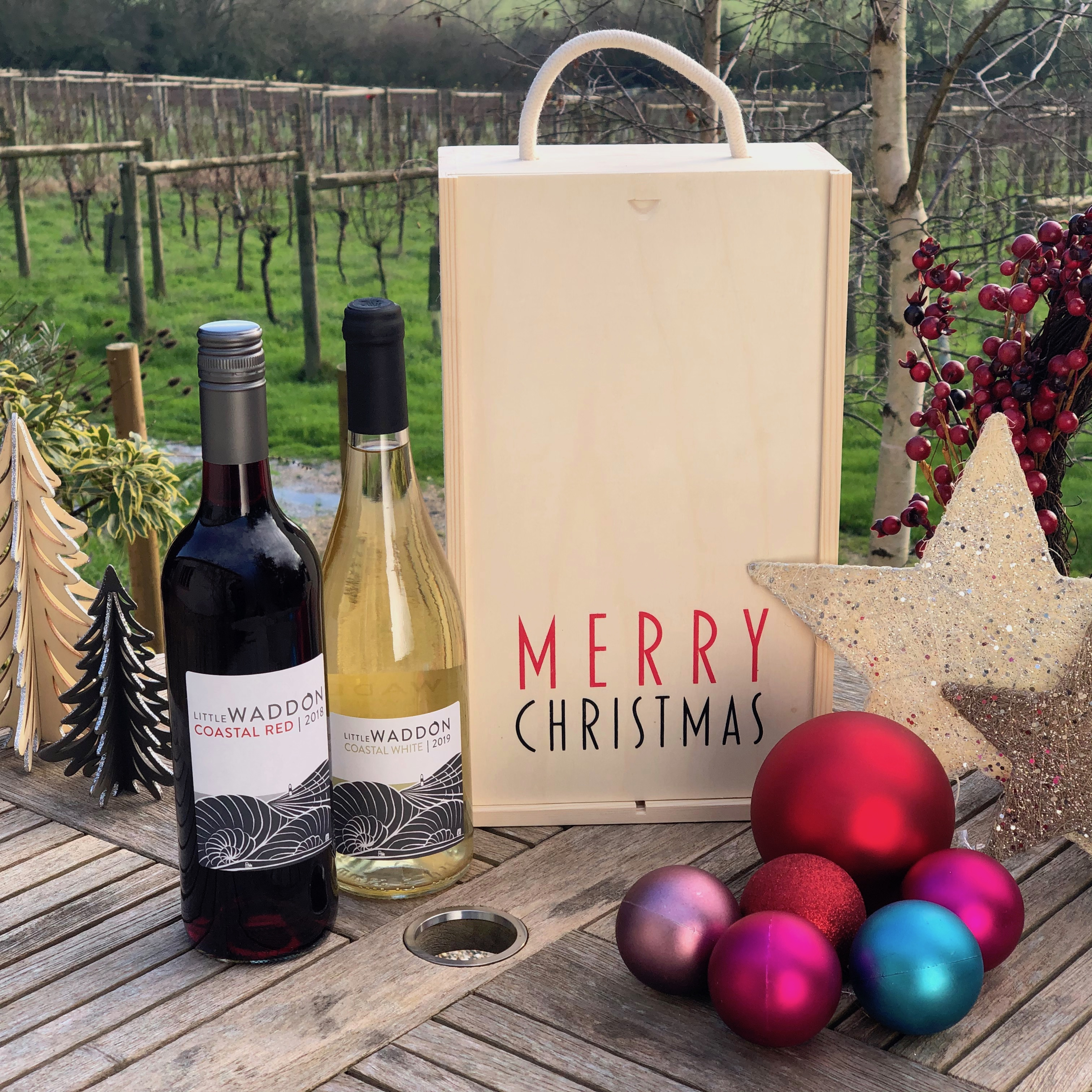 Red & White Christmas Special - Wine & Gift Box