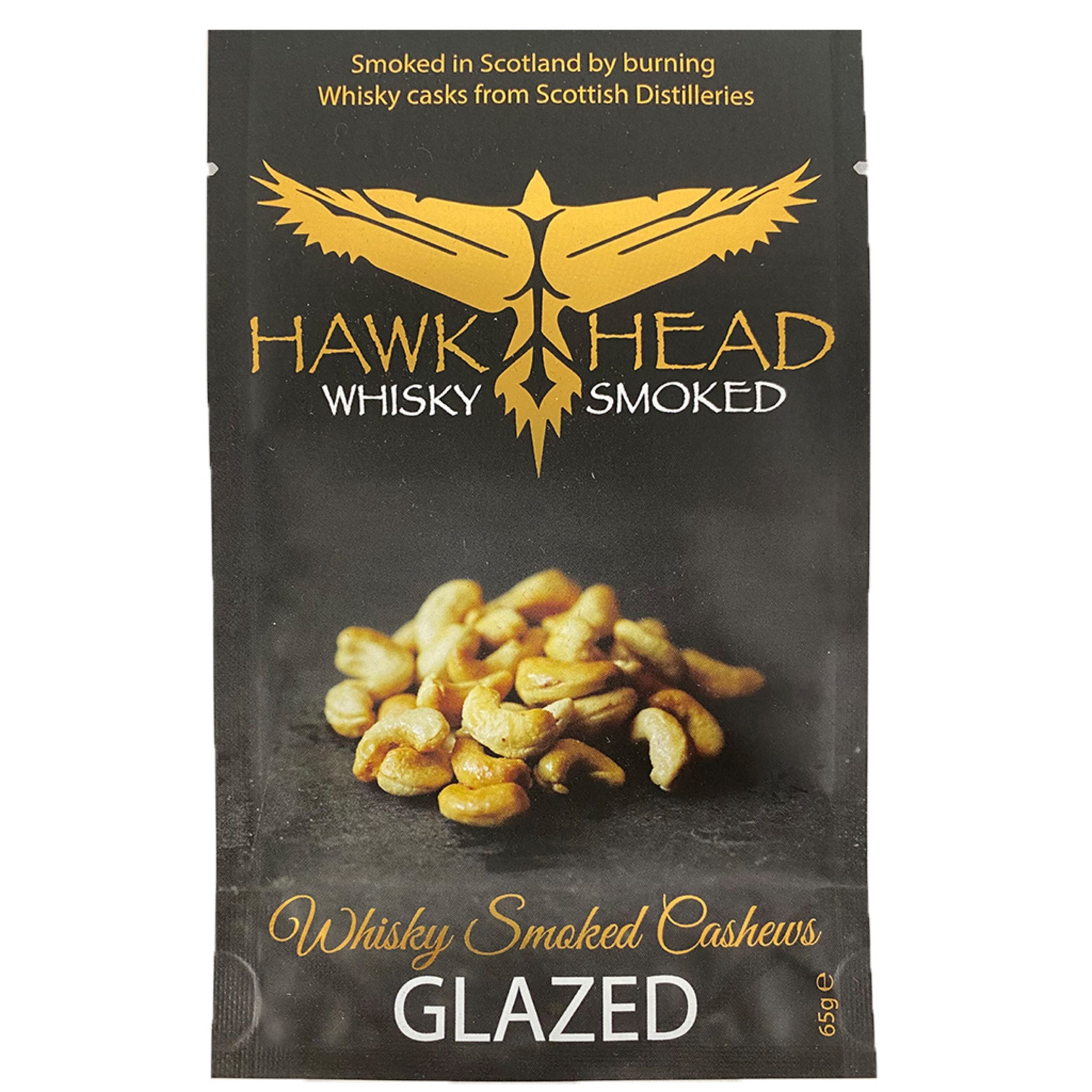 Glazed Whisky Smoked Cashews