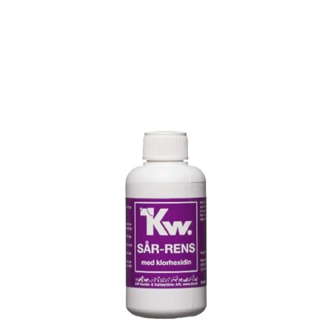 KW Sår-rens med klorhexidin 100ml