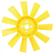 12G2129/Y - Fan Assembly 11 Blade Plastic - Yellow