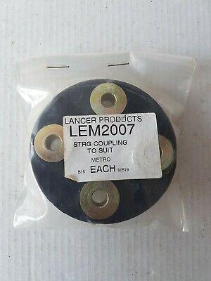 LEM2007 Rover Metro 100 Steering Coupling Pad 1990 to 1998