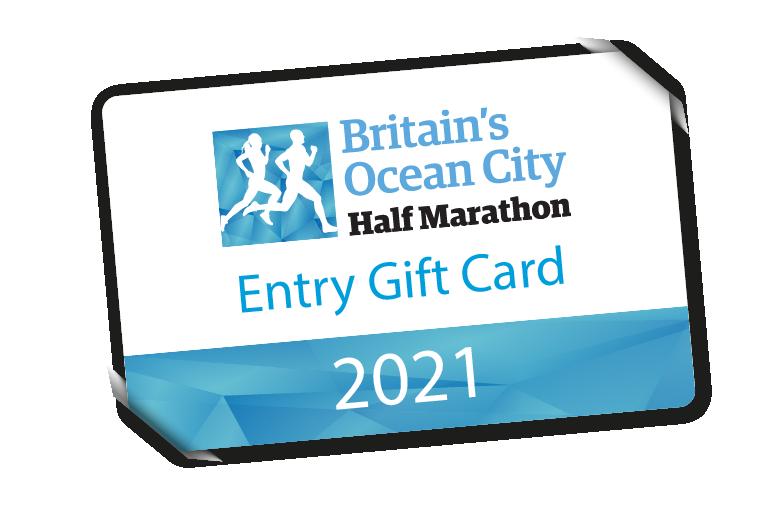 Britain's Ocean City Half Marathon 2021 Gift Card