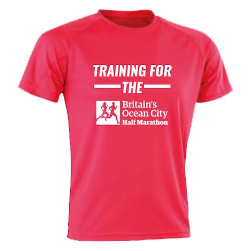 Fire Red Training For The Half Marathon T-Shirt