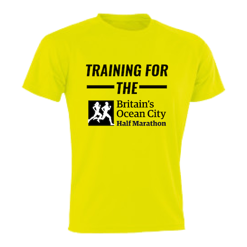 Sun Yellow Training For The Half Marathon