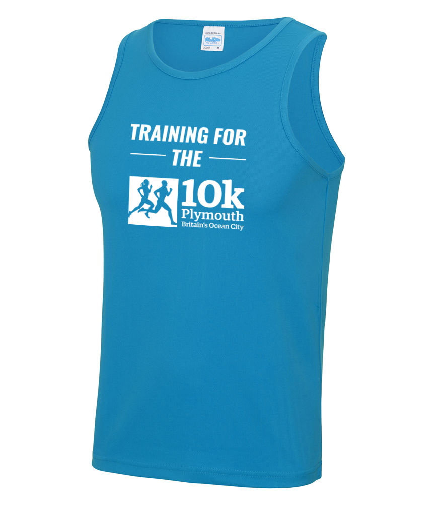 Plymouth 10k Training Vest - Sapphire Blue