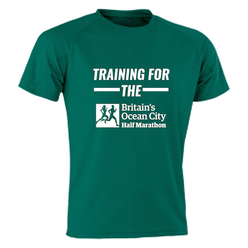 Bottle Green Training For The Half Marathon T-Shirt