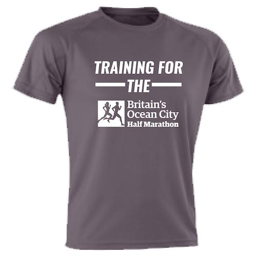 Charcoal Training For The Half Marathon T-Shirt
