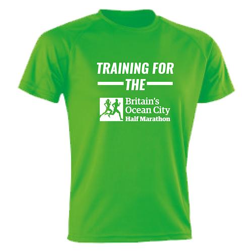 Kelly Green Training For The Half Marathon T-Shirt
