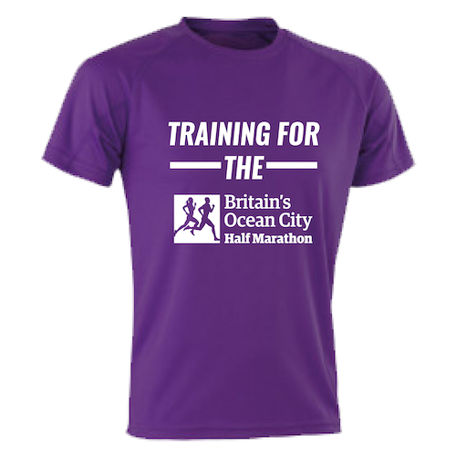 Purple Training For The Half Marathon T-Shirt