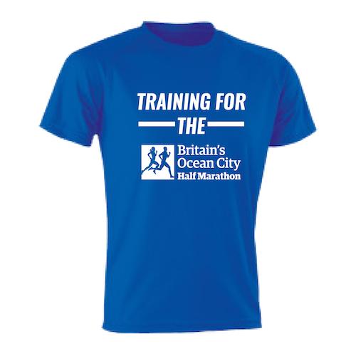 Ink Blue Training For The Half Marathon T-Shirt