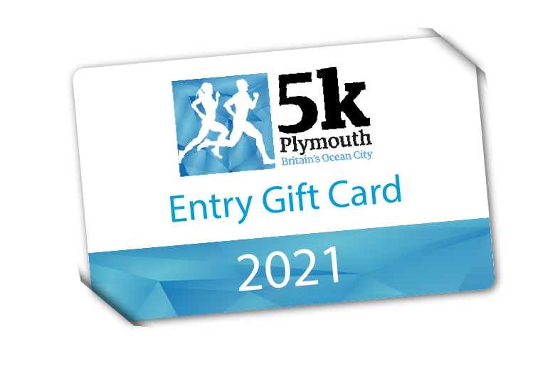 Plymouth 5k 2021 Gift Card
