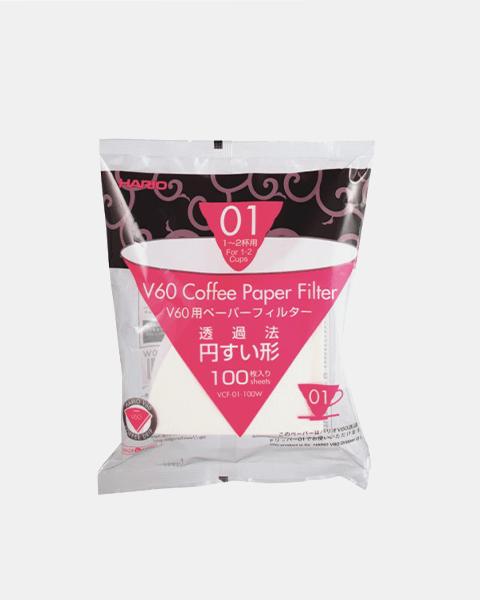 Kaffeefilter V60 0,1 Papier