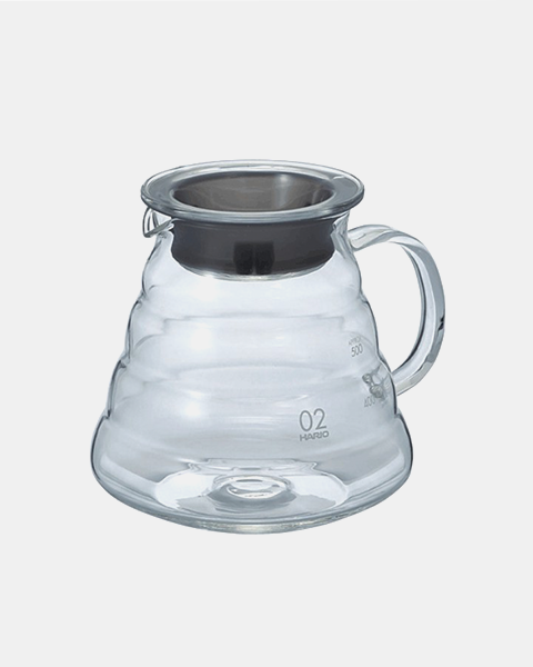 V60 Range Server 600 ml Clear Hario