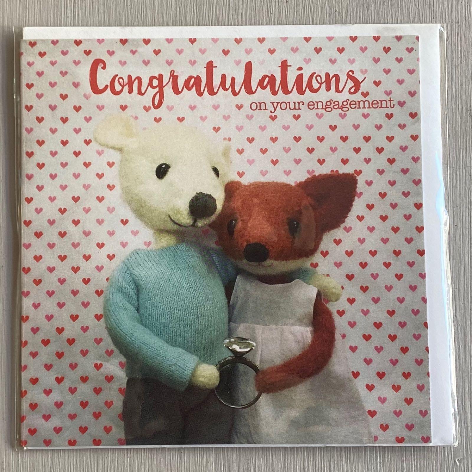'Engagement' Pippi & Me Card