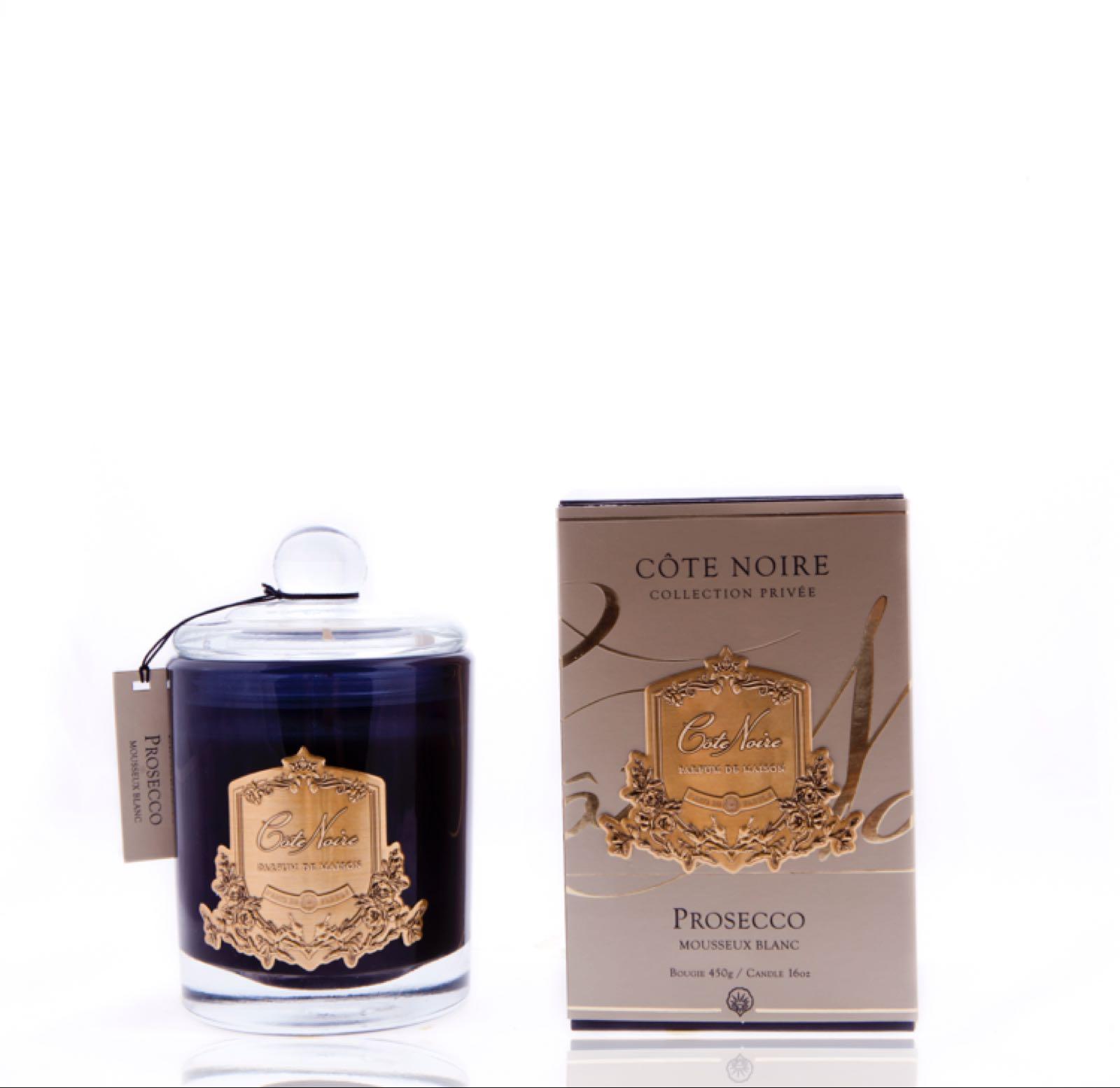 Cote noire Prosecco small 75g candle