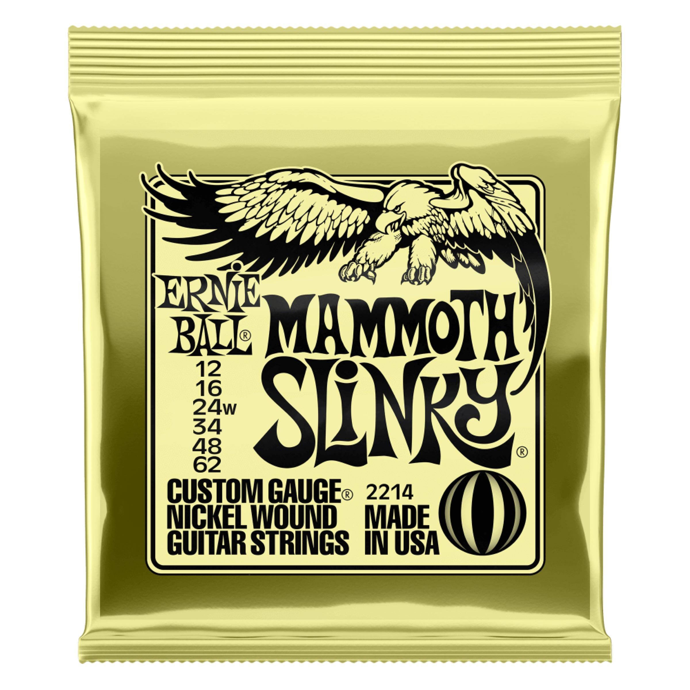 EB NICKELWOUND MAMMOTH SLINKY 12-62