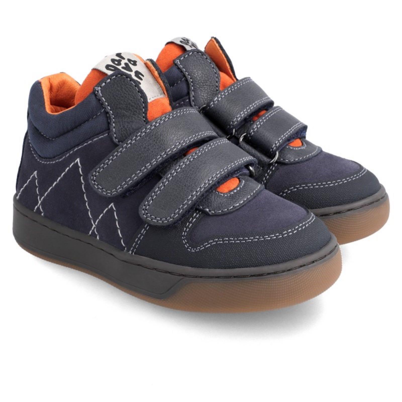 GARVALIN Azul Marino Boots Velcro 211656